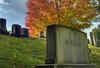 autumn rest (richietown) Tags: autumn cemetery grave graveyard leaves topv111 photoshop interestingness topv555 topv333 topv1111 headstone tombstone stock topv999 explore getty topv777 hdr 28135mm mtauburn bostonist mountauburn 3xp photomatix cotcmostinteresting universalhub bostonphotos bostonphotographer scoremehdr39 richietown bostonphotography bostonphoto bostonphotographs
