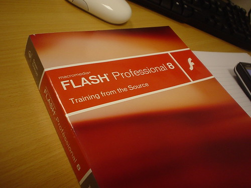 Flash 8 Training Book by Andrew*, on Flickr
