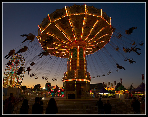 Carnival Ride. by Tom Kaszuba