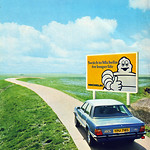 Michelin/Ford Cortina YPU718S Retro Car Advert