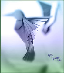 We Can Be Creative ... Using Simple Things (.Qanas.) Tags: bird colors photoshop wow paper toy amazing creative simple qanas