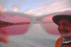 Q through rose colored glasses
