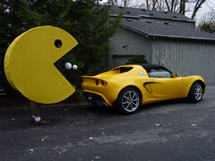 Pacman and the Lotus Elise