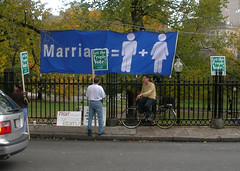 Throng of gay marriage opponents