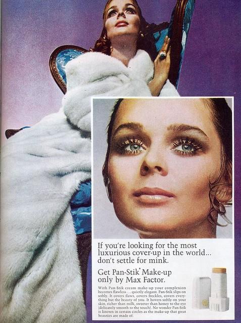 Max Factor ad, 1969