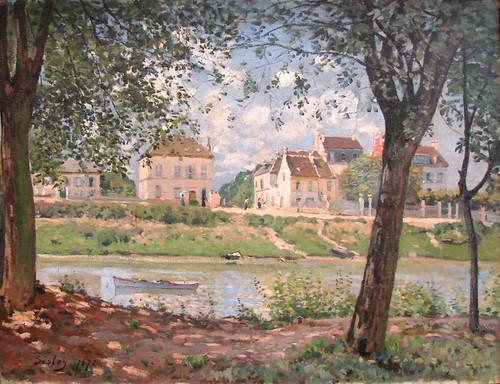 Villeneuve-la-Garenne, Alfred Sisley