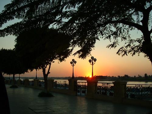 Luxor Sunset