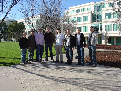 From an early visit on the Apple Campus with the iChat Team