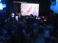 Siji singing on stage (AzyxA) Tags: club siji danceclub deephouse soulrevival