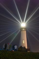 Pigeon Point Anniversary Lighting (Andy Frazer) Tags: lighthouse fresnel davenport halfmoonbay pigeonpoint gettyimages sfchronicle96hrs specobject upcoming:event=116857 pigeonpointligthhouse anniversarylighting