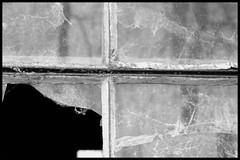 Old farm #2 (Dit is Suzanne) Tags: 27032005 nederland netherlands нидерланды achterhoek hengelogld окно raam window blackandwhite boerderij farm ферм minimalisme minimalism минимализм чернобелый zwartwit ©ditissuzanne canondigitalrebel geldersestreken views150