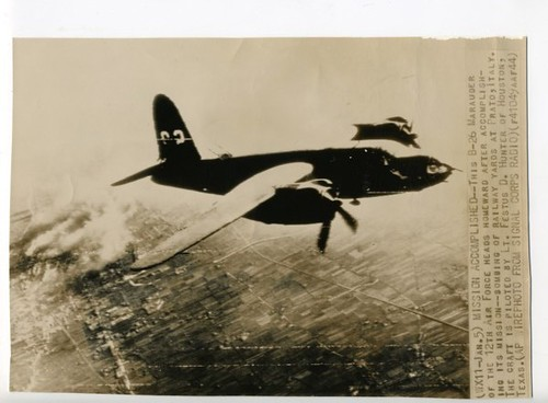 Warbird picture - B-26 over Italy, 1944