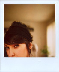 Marcy and them Eyes (Lou O' Bedlam) Tags: polaroid losangeles marcy polaroid680 louobedlam 10106photoshoot lounoble louobedlamcom
