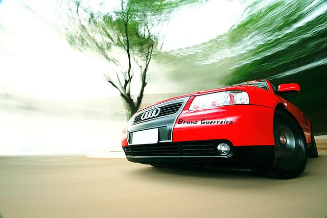 auto red brazil car brasil speed outdoor vermelho rig carro a3 movimento audi panning borrisco automovel automotor veiculo brunoguerreiro