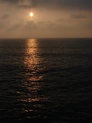 Ocean sunset (bobtravis) Tags: ocean california sunset clouds pier bravo day cloudy fv5 explore manhattanbeach coolest dsch1 i500 interestingness456