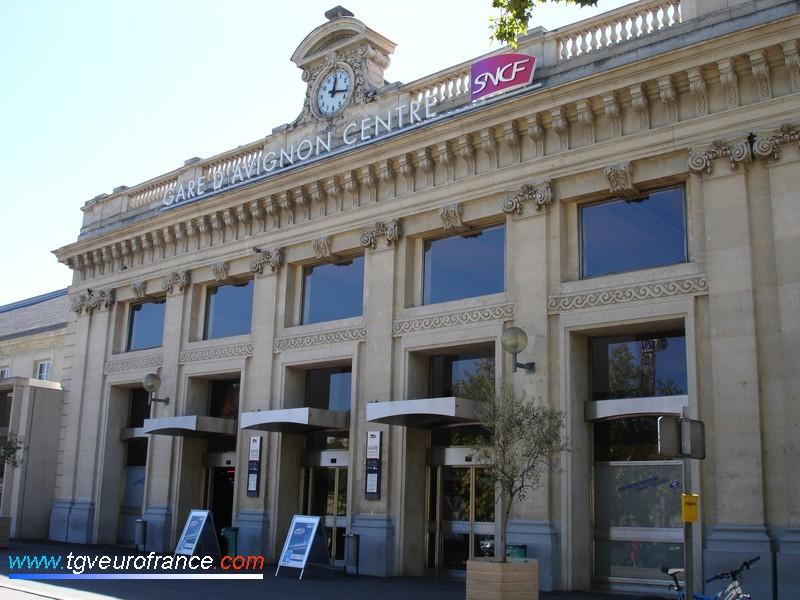 Le BV de la gare d'Avignon (84000)