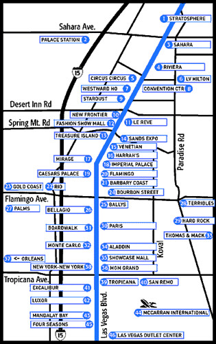 This is a graphic of Las Vegas Strip Map Printable with regard to strip downloadable