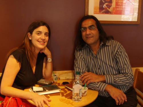@Starbucks in Santiago