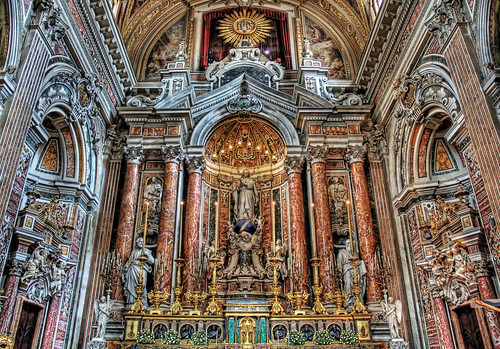 Blinded -- hdr church italy chapel naples christ religion catholic jesus holy blinded