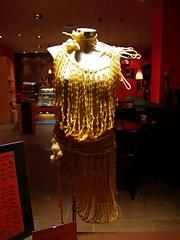 Vestido de macarrones