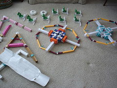ferris1 (firstfold creative origami) Tags: art wheel origami action craft ferris stick slip
