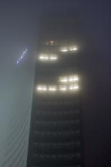 Umnebelter Uniriese (...der_holger) Tags: nebel leipzig uniriese cityhochhaus weisheitszahn