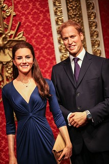 Prince William & Kate Wax Figure