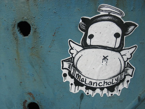 Melancholy Street Art - Photograph by mio_pls on Flickr