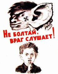 Don't blabber, enemy is listening (Freedom Toast) Tags: lenin childhood poster propaganda union communist communism soviet ussr propoganda