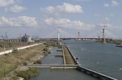 Construction of the bridge over Danube-Black Sea Canal, 06.10.2014.