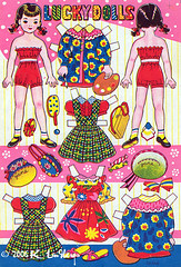 Lucky Doll Jane (peppermint kiss kiss) Tags: japan vintage jane paperdolls luckydolls