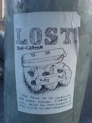 Lost: Egg Carton - by jaqian