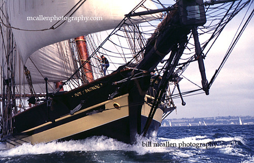Topsail Schooner Pride of Baltimore ll Sailing Brest France