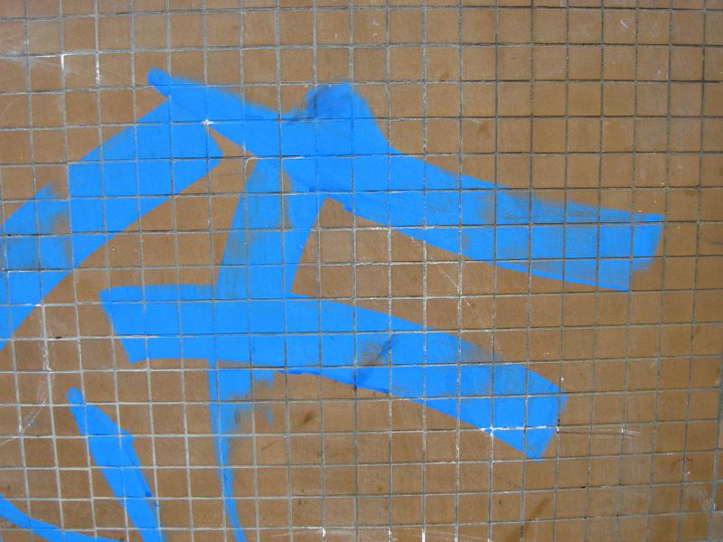 Blue Tag Brown Tiles