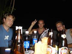 Daryl, Rob and Tom