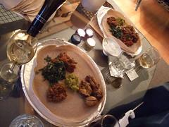 Ethiopian Meal