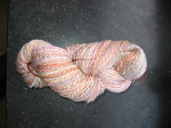 Handspun superwash merino
