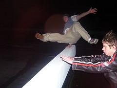 matts weird thing (urban-gorillaz) Tags: white luke freerunning pk ug parkour 2007 fearless lukewhite urbangorillaz