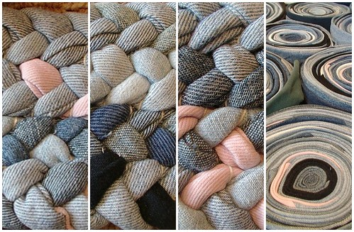 Braided Jean Rug from Sunshines Creations
