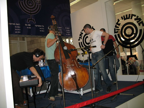 Kol Yisrael Radio at the fair