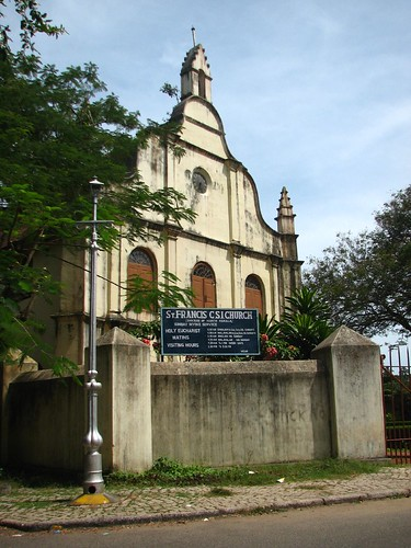 St Francis Church Ft Kochin India