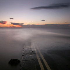 Burnham Slip (Adam Clutterbuck) Tags: ocean uk longexposure greatbritain sunset sea cloud seascape 20d landscape coast somerset canoneos20d coastal shore gb navigation oe slipway burnham burnhamonsea payitforward shorescape greengage top20longexposure scoreme41 adamclutterbuck winnerflickrsweekly50contest showinrecentset openedition