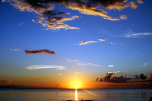 beautiful pictures of islands.  Beautiful Sunset (Cayman Islands)