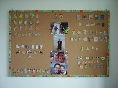 Our old Disney pins collection :-) (isazappy) Tags: disney isabelle pintrading disneypin isazappy