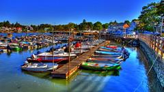 stony creek harbor.jpg (slack12) Tags: ocean blue marina boats pier connecticut shoreline sailboats hdr branford slack12