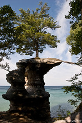 Chapel Rock And Roots (James Marvin Phelps) Tags: park lake rock photography rocks state michigan pictured superior chapel upper national lakeshore peninsula lakesuperior munising picturedrocksnationallakeshore chapelrock mandj98 munisingmichigan savethewildup jmpphotography jamesmarvinphelps