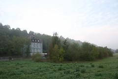 bby_Morgens am Main (bby_) Tags: morning fog germany nebel main franken morgens kitzingen
