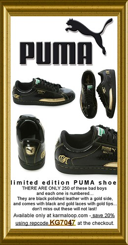 Gold and Black  Limited Edition by Karmaloop