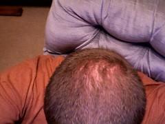 Am I balding? (drapelyk) Tags: kyle balding eppard