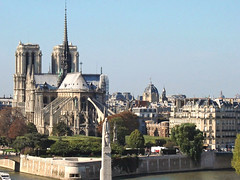 Notre-Dame de Paris (France) (dalbera) Tags: paris church seine église notredamedeparis iledelacité saintegeneviève paullandowski landowski dalbera